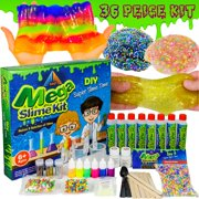 OzBSP Mega Slime Kit. DIY Slime Making Kit for Boys and Girls. Everything to Make 8 Batches of Slime. Slime Supplies Kit