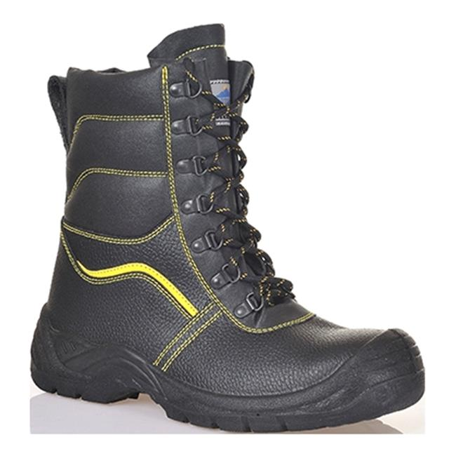 Portwest FW05 Regular SteeLite Synthetic Fur Lined Protector Safety Boot S3- Black - Size 40 & 6.5