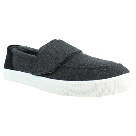 Toms Womens Slip On - New TOMS Womens Altair Black Felt Suede Slip On Loafers