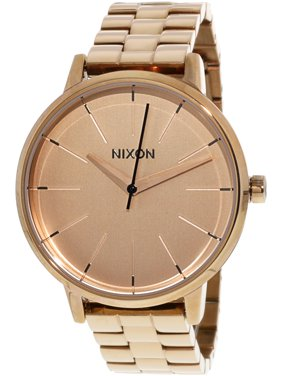 d3c98d73972f Free shipping. Product Image Nixon Women s Kensington A099897 Rose-Gold  Stainless-Steel Plated Japanese Quartz Fashion Watch