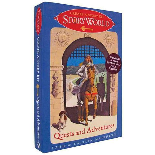 Storyworld: Quests and Adventures: Create-A-Story