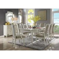 Splendid Dining Table, Antique White