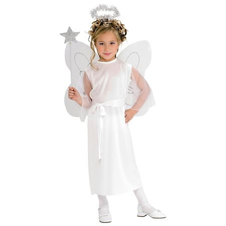 Christmas Angel Costumes (Girls Heavenly Angel Fairy)
