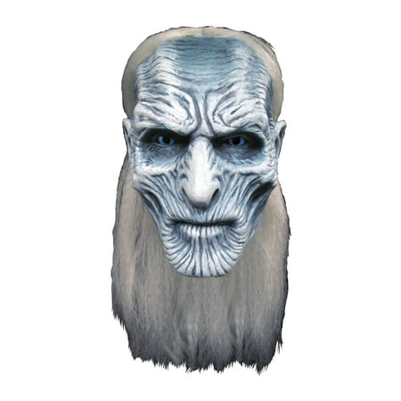 Trick Or Treat Studios Game of Thrones: White Walker Halloween Costume Mask