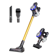 Cordless Vacuum, 2-in-1 Ultra Lightweight Stick Vacuum Cleaner with 9KPa High Suction, Carpet,Stair Including Rechargeable Battery, Wall Mount and Pet Motorized Brush【Upgrade】