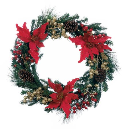 rustic christmas wreath plastic artificial christmas wreath door decorations - How To Decorate Artificial Christmas Wreath