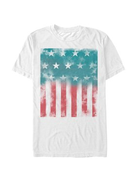 732c63ab2 Product Image Men's Fourth of July American Flag Watercolor Print T-Shirt