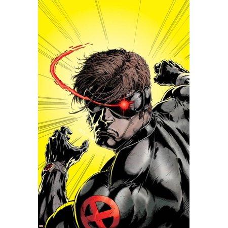 Uncanny X-Men No.391 Cover: Cyclops Print Wall Art By Salvador - Uncanny X-men Covers