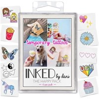 4a4bf3901d882 Product Image INKED by Dani Happy Temporary Tattoo Pack