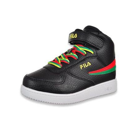 Fila Boys' A-High Hi-Top Sneakers (Sizes 7 - 10)