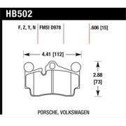 Hawk Porsche / Volkswagen Performance Ceramic Street Rear Brake Pads