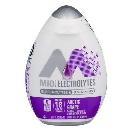 (2 Pack) MiO Fit Arctic Grape Liquid Water Enhancer, 5 - 1.62 fl oz Bottles