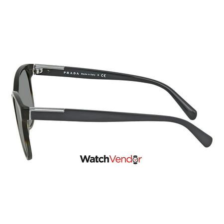 80ccd91159 Prada Grey Sunglasses PR 08US C7O9K1 54 - image 1 of 3 ...