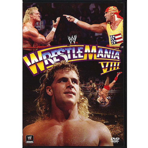 WWE: WrestleMania VIII (Full Frame)