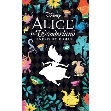 Disney Alice in Wonderland Cinestory Comic