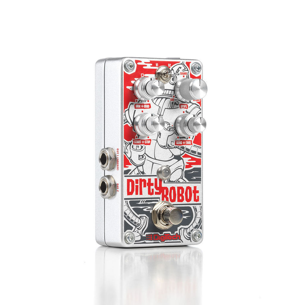 DigiTech DirtyRobot Stereo Mini Synth Ture Bypass Stomplock Guitar Effect Pedal,... by DigiTech