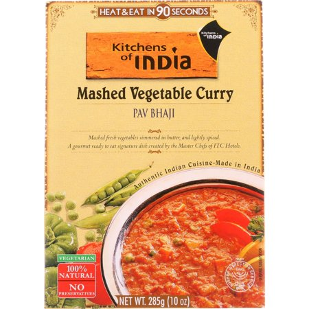 Kitchens of India Mashed Vegetable Curry, 10.0 OZ
