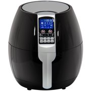 Best Choice Products 3.7qt Non-stick Electric Air Fryer Cooking Appliance for Home, Kitchen w/ 8 Cooking Presets, Temperature Control, Timer, Digital LED Screen Display - Black