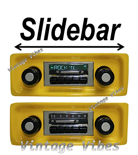 Custom 1967-1972 Chevrolet Truck 300 watt Slidebar AM FM ...