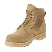 "Rothco 5288 6"" Military Combat Tactical Work Boot, Desert Tan"