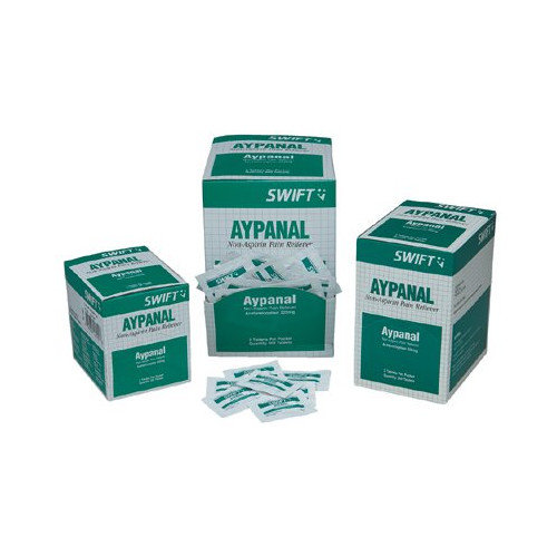 Swift First Aid Aypanal Non-Aspirin Pain Relievers - aypanal(non-asprin) 250/bx