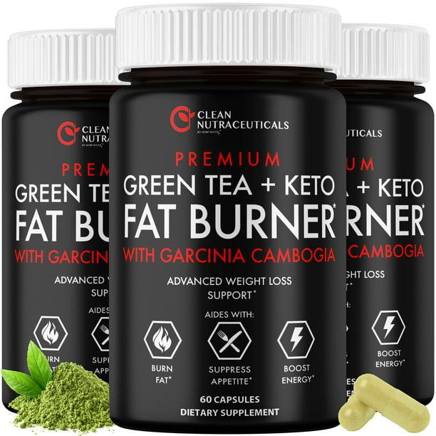 Green Tea Extract Capsules Egcg Garcinia Cambogia Raspberry