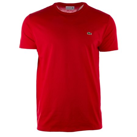 Lacoste Crew Neck Pima Cotton Jersey T-Shirt  - Mens