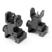 Samson Folding Front & Rear Sight Package A2, Dual Aperture, Black
