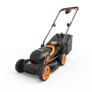 "Best Self Propelled Lawn Mowers - Worx WG779 2x20V (4.0AH) Cordless 14"" Lawn Mower Review"