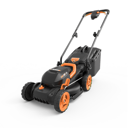 WORX 40V Power Share 4.0 Ah 14'' Lawn Mower w/ Mulching & Intellicut (2x20V)