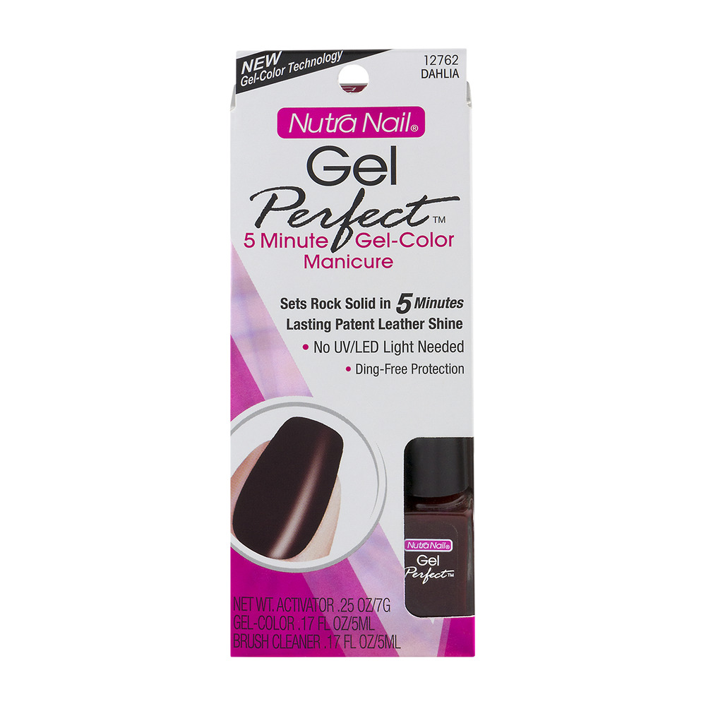 Nutra Nail Gel Perfect Manicure 12762 Dahlia, 1.0 KIT