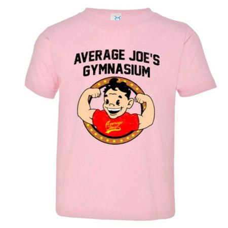 Average Joes Dodgeball Uniform (PleaseMeTees™ Toddler Average Joe's Gymnasium Dodgeball Logo HQ)