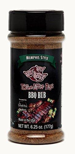 Three Little Pigs Memphis Style BBQ Rub by Three