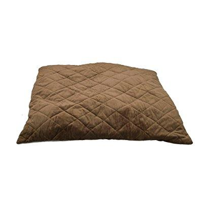 K&H Manufacturing k thermo-bed, quilted, large, tan/mocha...