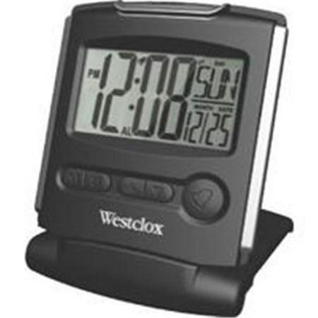 Westclox Travelmate 5''Lcd Alarm Clock 72028