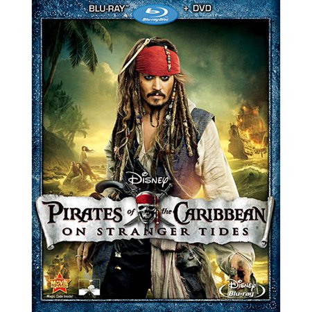 Pirates of the Caribbean: On Stranger Tides (Blu-ray +
