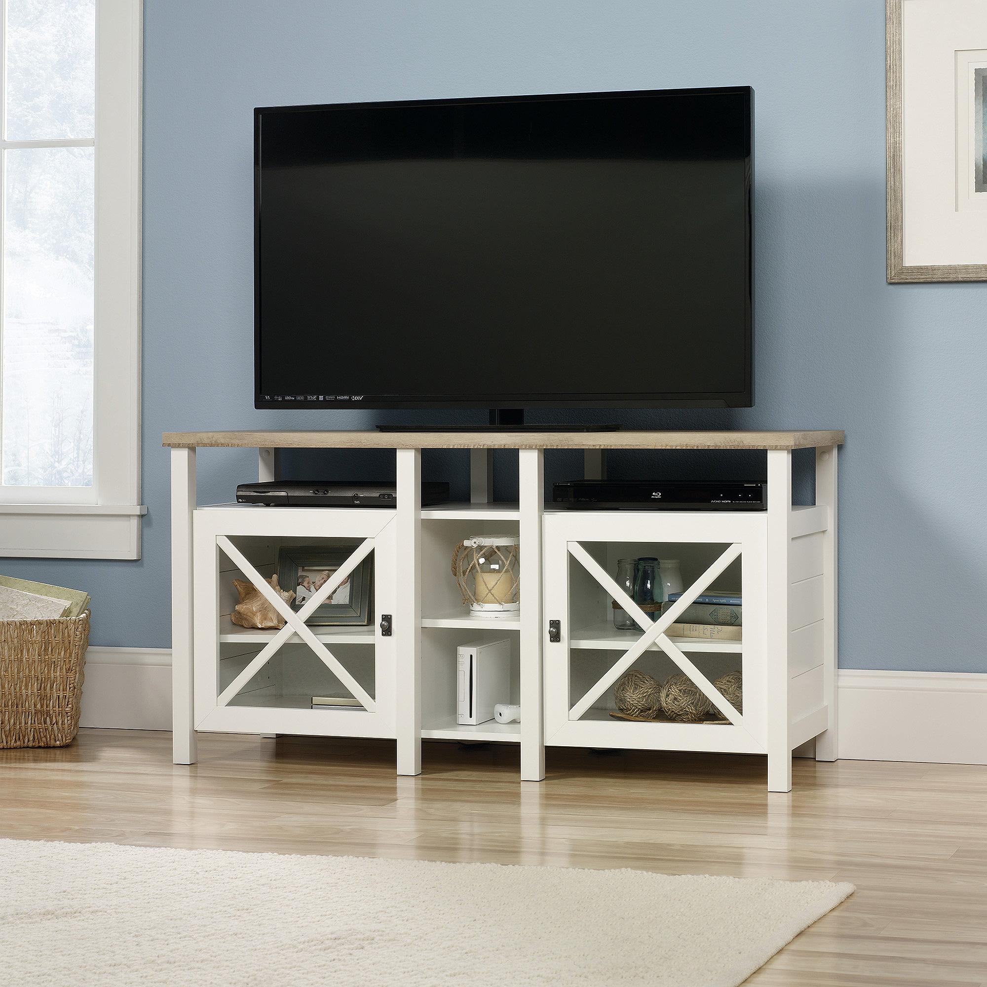 Sauder Tv Cabinet Sauder Cottage Road Tv Stand For Tvs Up To 50 Soft White