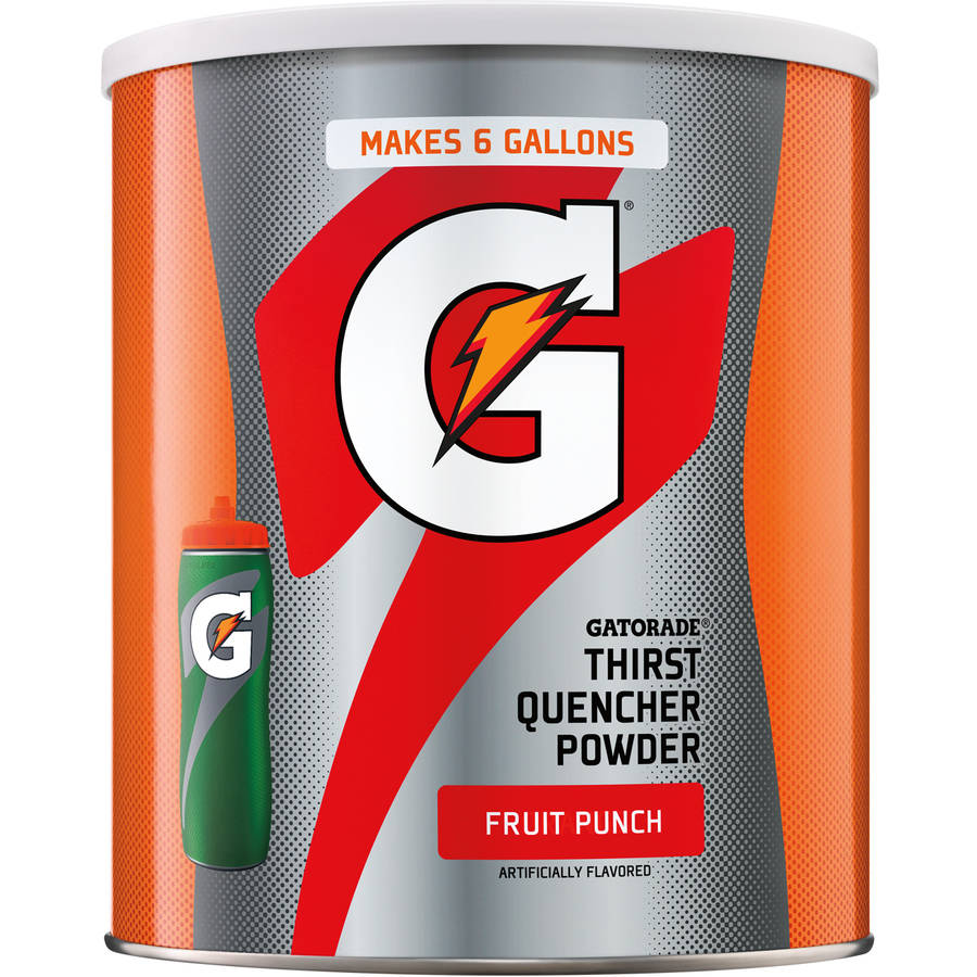 Gatorade Thirst Quencher Fruit Punch Sports Drink Mix, 51 Oz