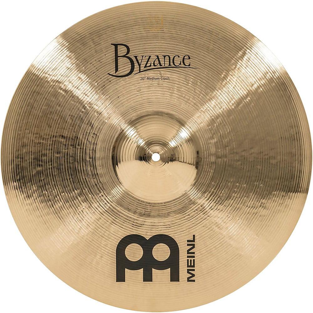 Meinl Byzance Brilliant Medium Crash Cymbal 20 in. by Meinl