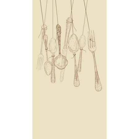 Club Pack of 192 Tea Time Chimes 3-Ply Disposable Party Paper Guest Napkins 8