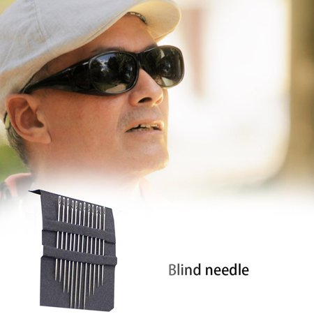 Needle-Free Needle For The Elderly Needle Side Hole Blind Needle Without Threading Needle Dual-Use Sewing Needle - image 5 of 5