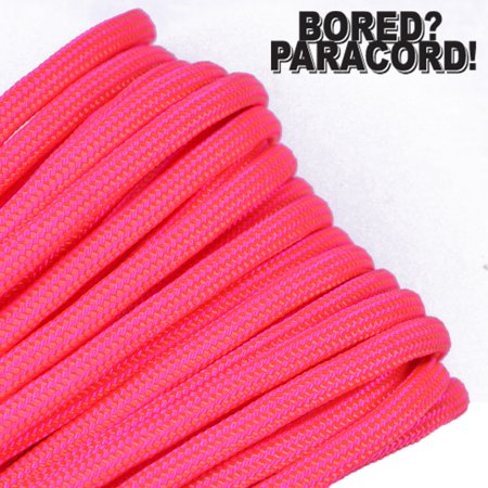 Bored Paracord Brand 550 lb Type III Paracord - Hang Ten 50 Feet