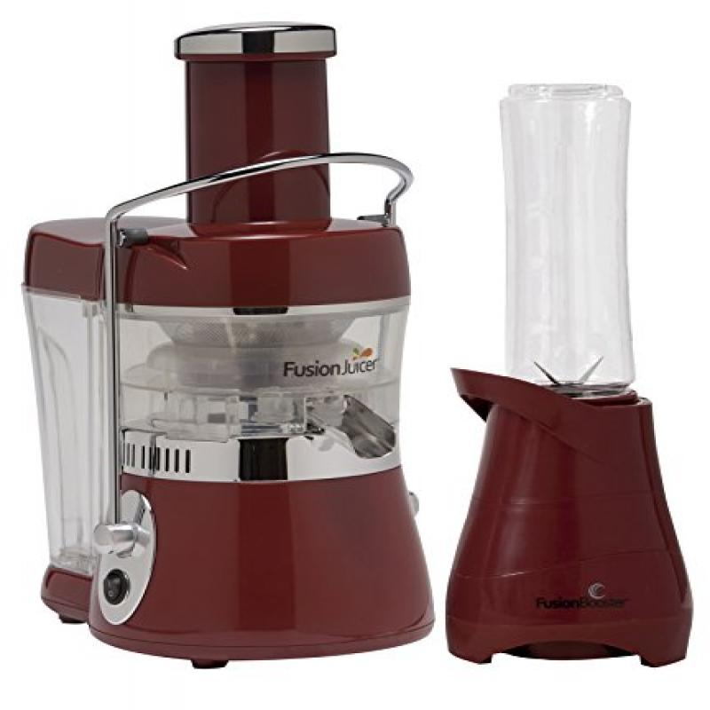 Jason Vale Fusion Juicer Centrifugal Extractor with Bonus Booster Blender