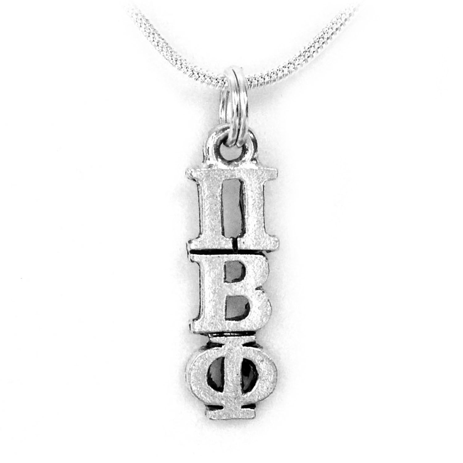 Pi Beta Phi Sorority Lavalier with Chain