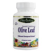 Paradise Herbs - Spanish Andalusian Olive Leaf - 60 Vegetarian Capsules