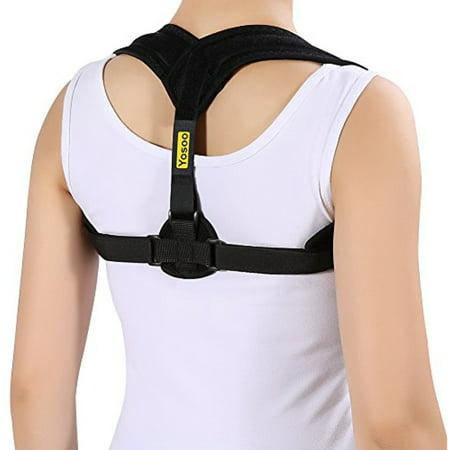 Yosoo Back Posture Corrector Adjustable Clavicle Brace Comfortable Correct Shoulder Posture Support Strap