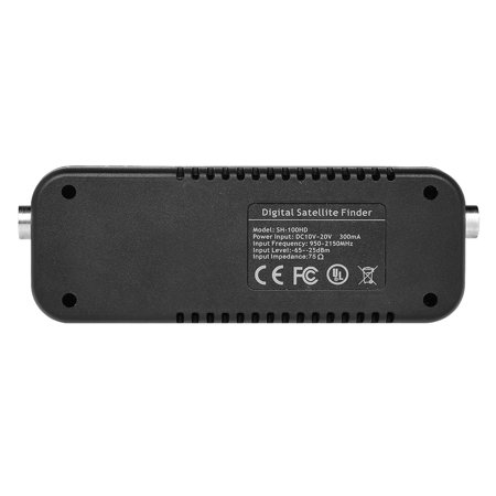 SATHERO SH-100HD Signal Finder Meter DVB-S/ HD Digital TV Signal Finder Receiver LCD Dispaly - image 3 of 7