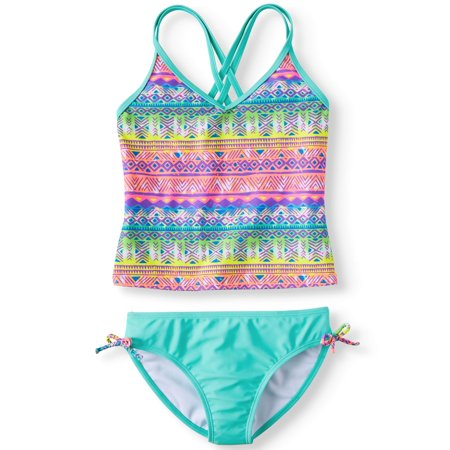 Wolf Den Tankini Swimsuit (Little Girls & Big Girls) - Swimwear Girls