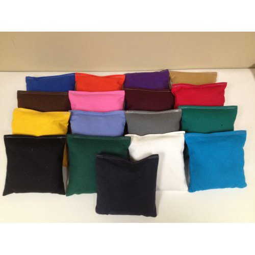 All Weather Cornhole Bags Set of 8 by AJJ Cornhole