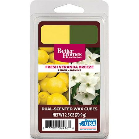 Better Homes And Gardens Duo Wax Cubes Fresh Veranda Breeze